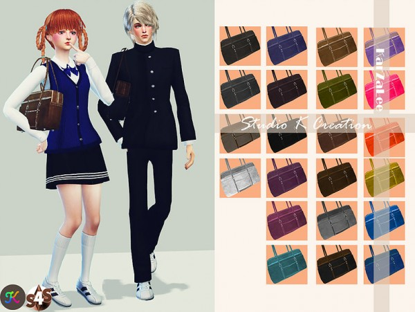 Studio K Creation: School bag   shoulder