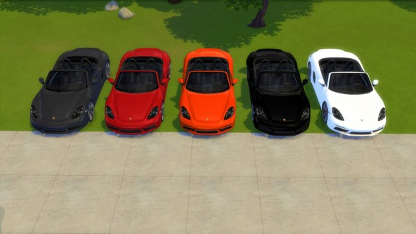 Lory Sims: Porsche 718 Boxster S