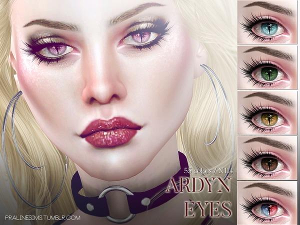 The Sims Resource: Ardyn Eyes N114 by Pralinesims