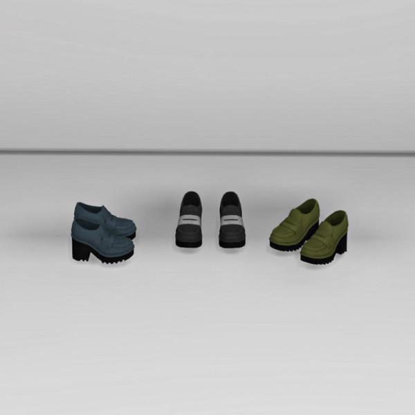 Leo 4 Sims: Semmler Deco Shoes