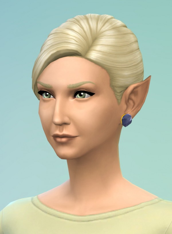 Mod The Sims: Pointy Ears Unlocked by Khitsule