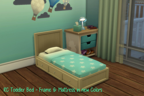 Chillis Sims RC Toddler Bed O Sims 4 Downloads