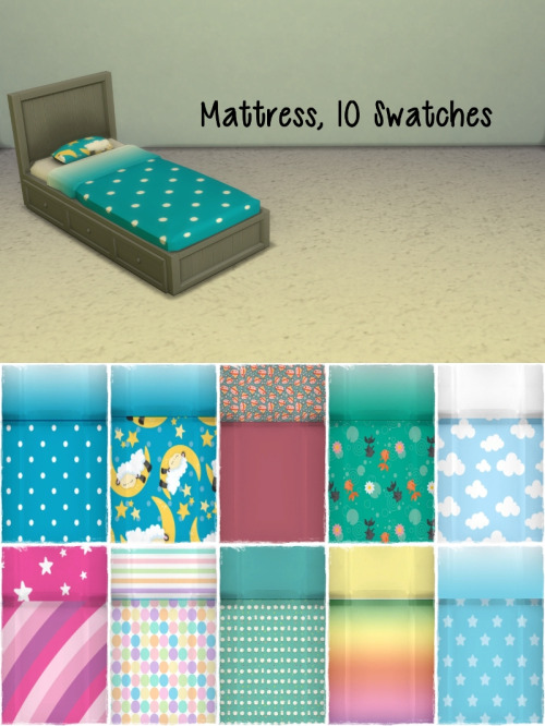 Chillis Sims: RC Toddler Bed