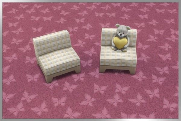 Blackys Sims 4 Zoo: Butterfly floor by Cappu