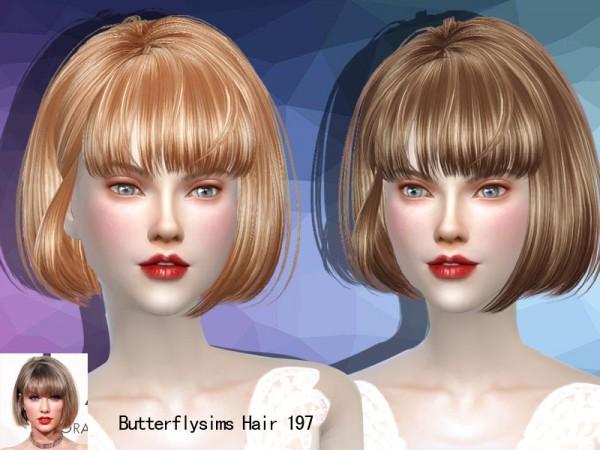 Butterflysims: Butterflysims hair 197