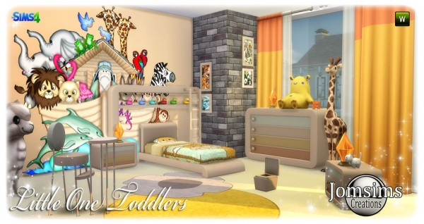 The Sims Resource: Little one toddlers room