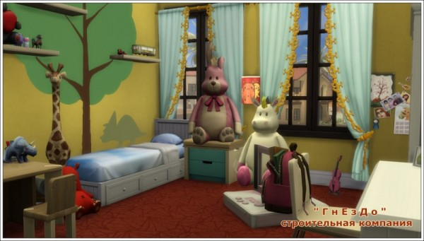 Sims 3 by Mulena: Children room 02