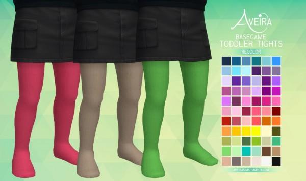 Aveira Sims 4: Toddler Tights   Recolor