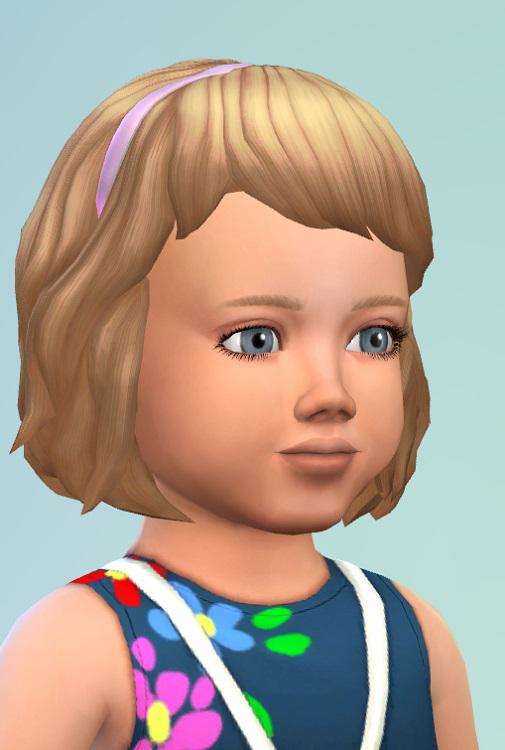 Birkschessimsblog: Toddler Hair with Band