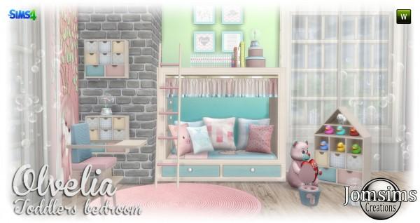 Jom Sims Creations: Olvelia kidsroom