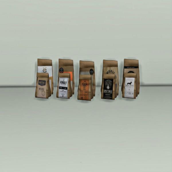 Leo 4 Sims: Coffee Bags