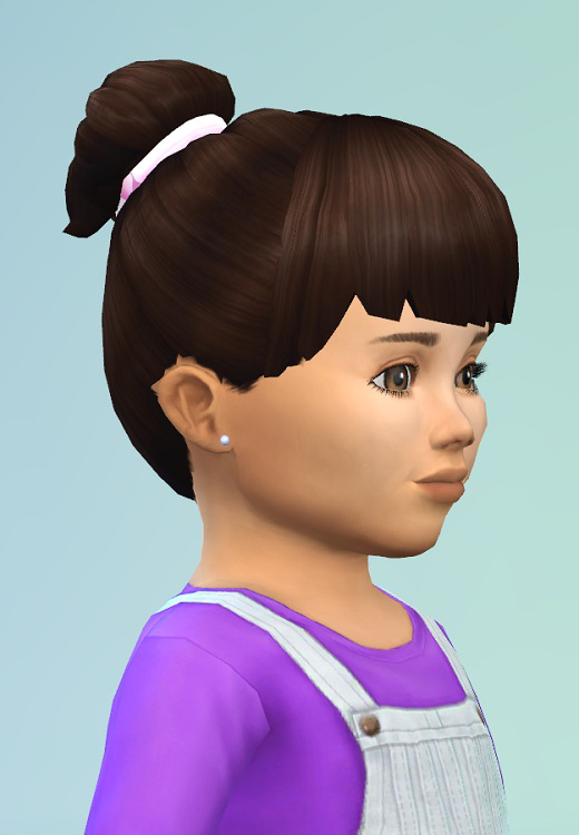 Birkschessimsblog Toddlers Hairstyle Nest Sims 4 Downloads