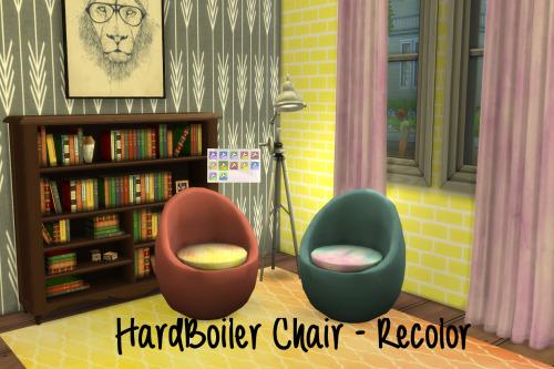 Chillis Sims: Hard Boiler Chair   Recolor