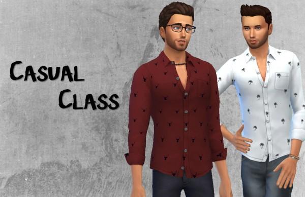 Choco Sims: Casual class shirt
