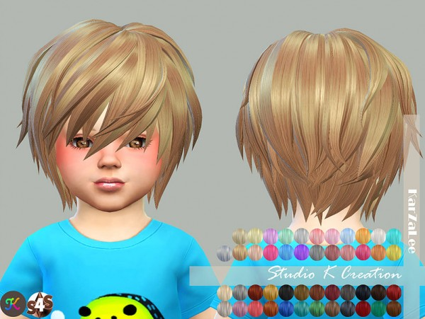 Studio K Creation: Animate hairstyle 27 RIN for toddlers