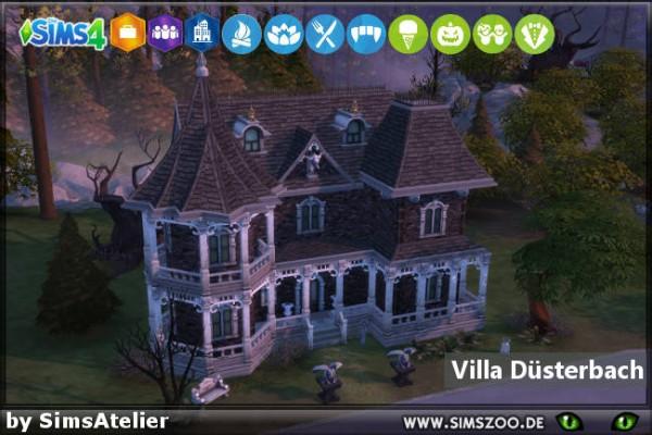 Blackys Sims 4 Zoo: Gloom house by SimsAtelier