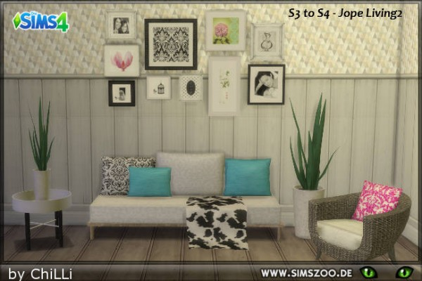 Blackys Sims 4 Zoo: Jope living2 by ChiLLi