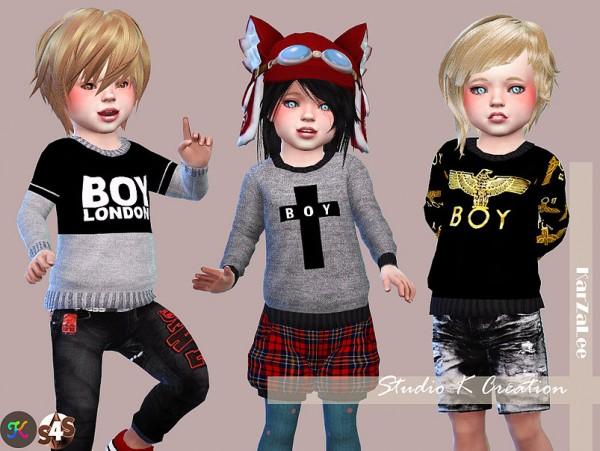Studio K Creation: Boy London Sweat for toddler
