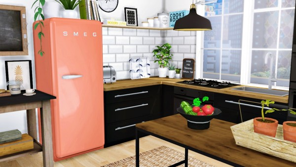 Mxims Cazarupt Smeg Fridge Fixed Sims 4 Downloads