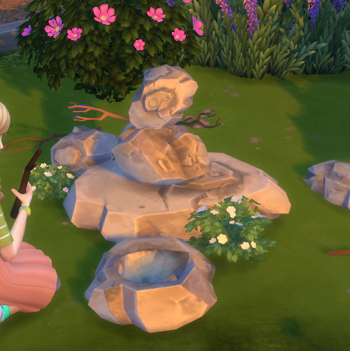 Simsworkshop: Sticks and Stones Dollhouse