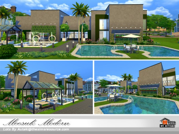 The Sims Resource: Meesuk Modern by Autaki