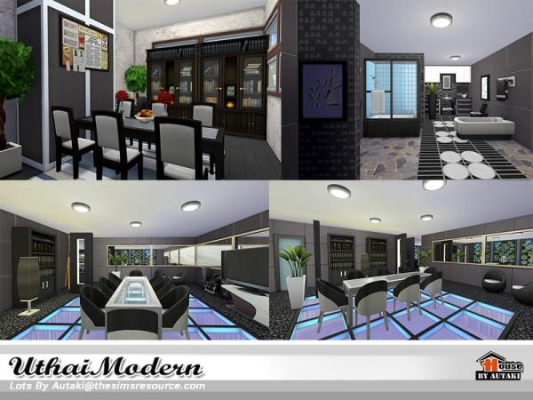 The Sims Resource: Uthai Modern house by Autaki