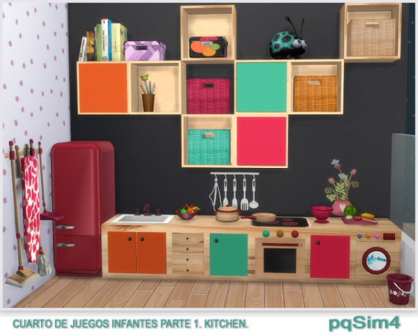 Pqsims4 Playroom For Kids Sims 4 Downloads
