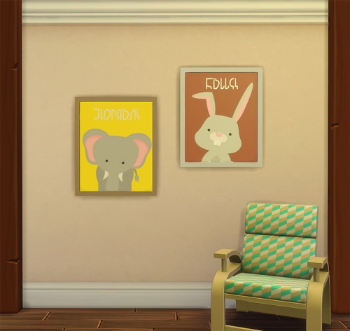 Chillis Sims: Pets Painting   Simlish Font