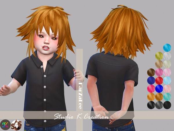 Studio K Creation: Animate hair 12   Hitomi for toddlers