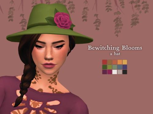 Nolan Sims: Bewitching Blooms Hat