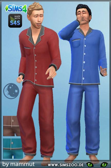 Blackys Sims 4 Zoo: Sleep Top and Bottom 2 by mammut
