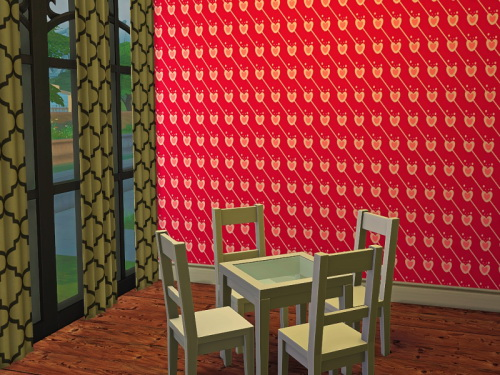 Chillis Sims: Valentine Wallpaper