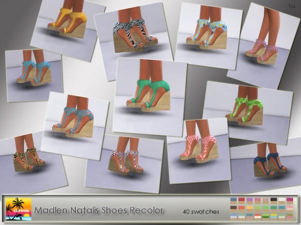 Elfdor: Madlen`s Natalis Shoes Recolor