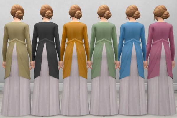 History Lovers Sims Blog: Mary Edwardian Dress