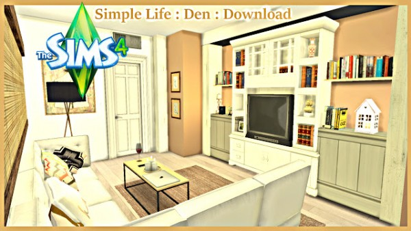 Pandashtproductions: Simple Life Den