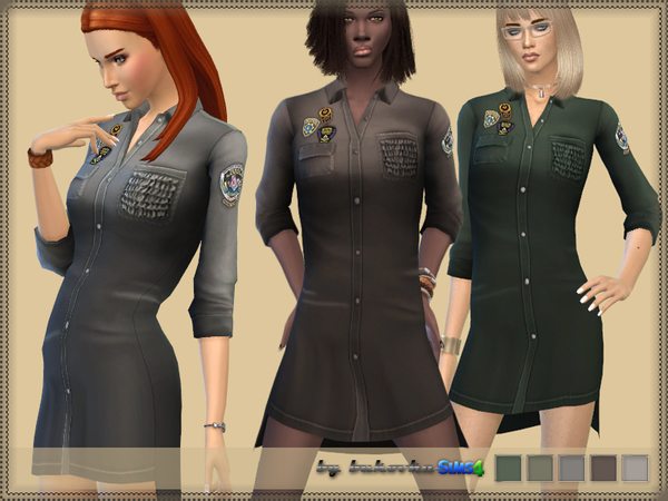 The Sims Resource: Military Dress by bukovka