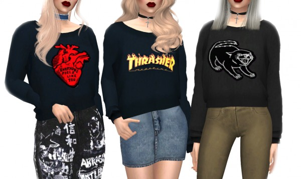 Kenzar Sims: Savana Sweaters