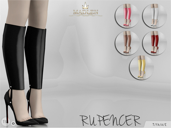 The Sims Resource: Madlen Rupencer Shoes by MJ95
