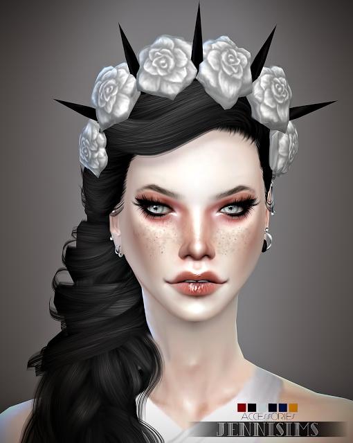 Jenni Sims: Crowns Flowers Mix