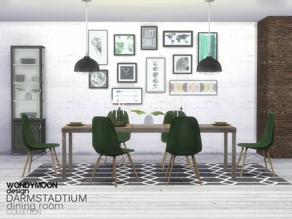 The Sims Resource: Darmstadtium Diningroom by wondymoon
