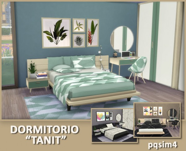 PQSims4: Tanit bedroom