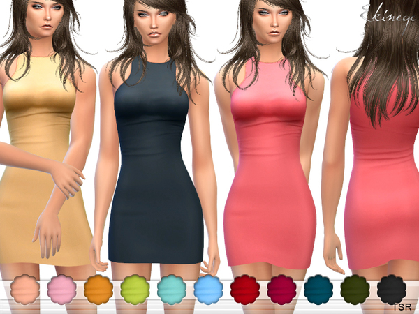 The Sims Resource: Mini Dress by Ekinege