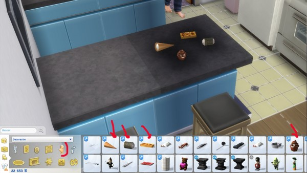 Mod The Sims: Edible candy and food by necrodog
