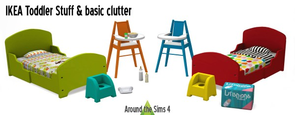 Around The Sims 4 Ikea Toddler Stuff And Basic Clutter