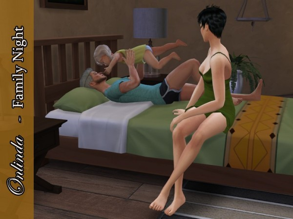 The Sims Resource: Family Night   PosePack by StefaniaOnlinda