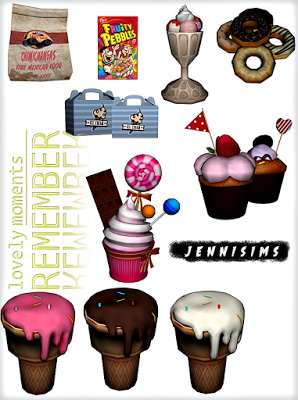 Jenni Sims: Candylicious Set and Chair Functional