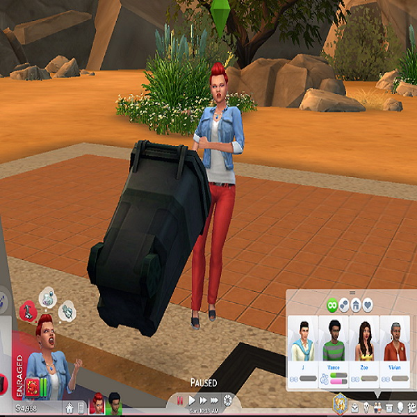 Mod The Sims: Violent Trait Always Angry by PhantomRiderYT