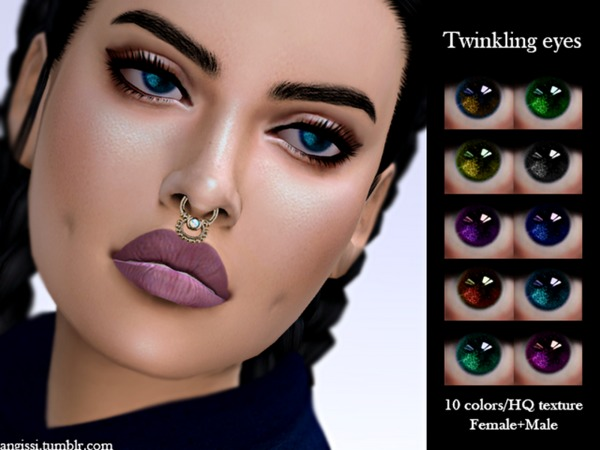 The Sims Resource: Twinkling eyes by ANGISSI