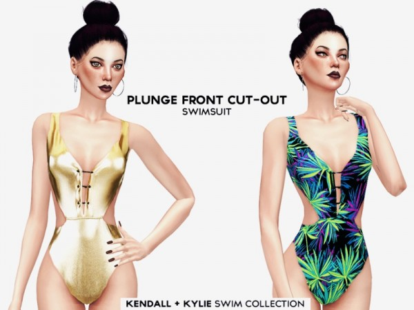 The Sims Resource: Kendall and Kylie Swimsuit Collection by itsleeloo