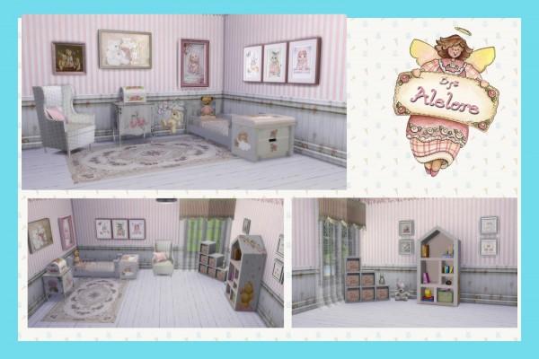 Alelore Sims Blog: Vintage toddler room